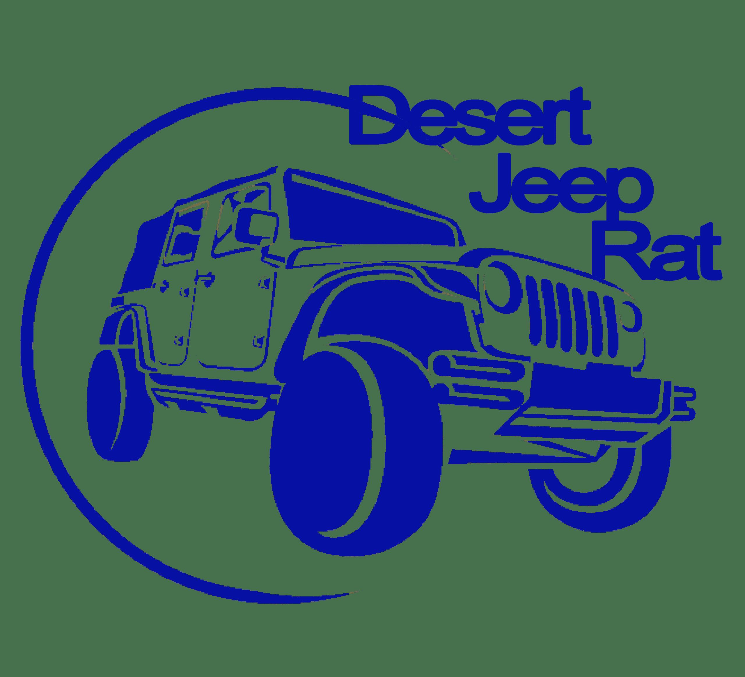 Desert Jeep Rat Logo