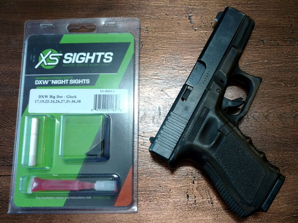 Glock 19 SX Sight