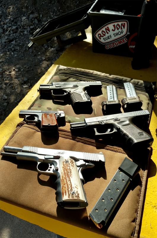 Firearms Pistols
