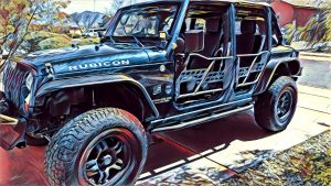 Jeep Blue Burro