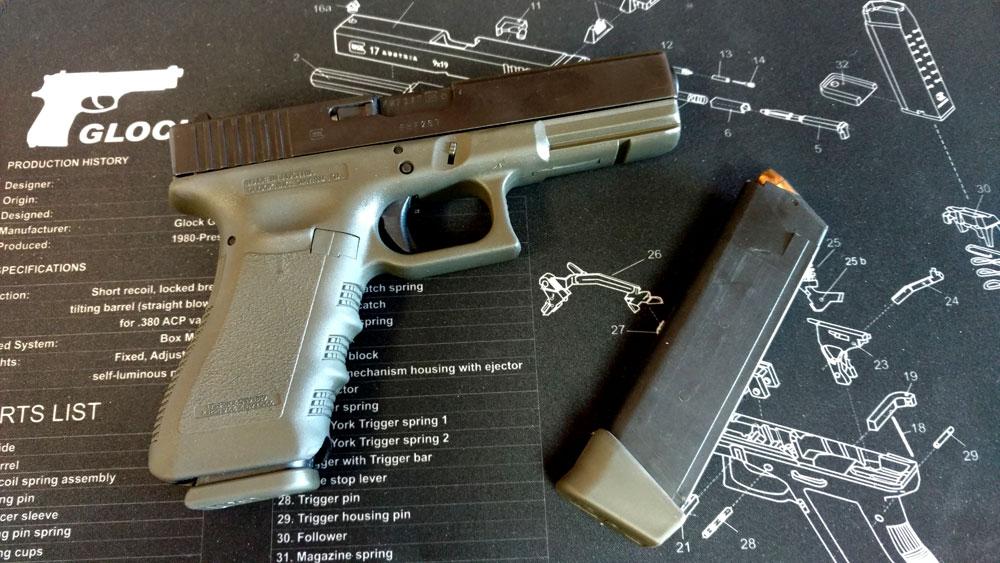 OD Green Glock 22