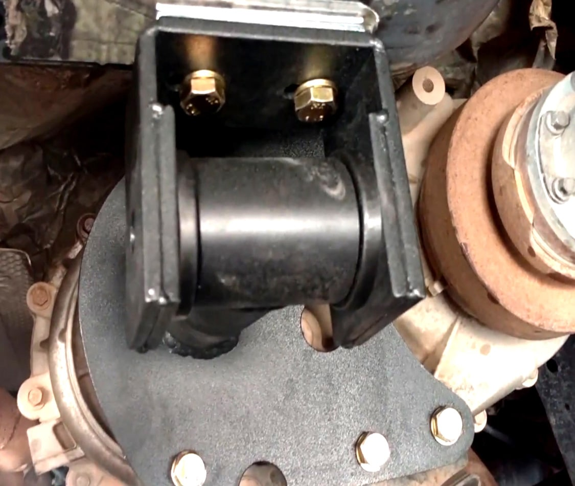 Chlever Craft Industries Transfer Case Support Install