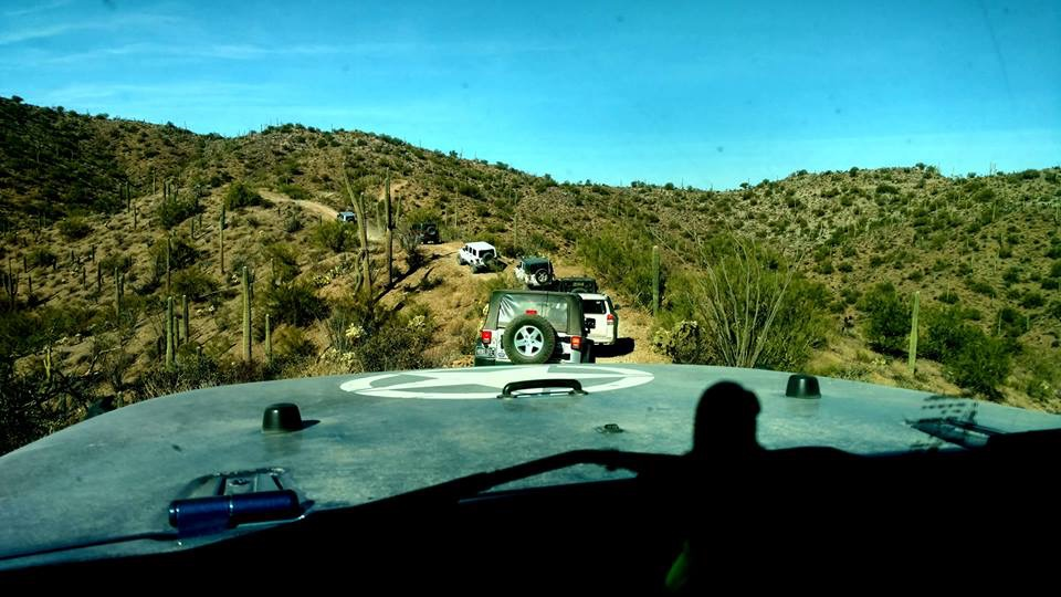 Off Road Tucson Box Canyon Trail Ride Video