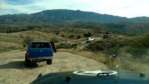 Chivo Falls 3 Pools Trail Run 1-7-18 Off-Road Tucson