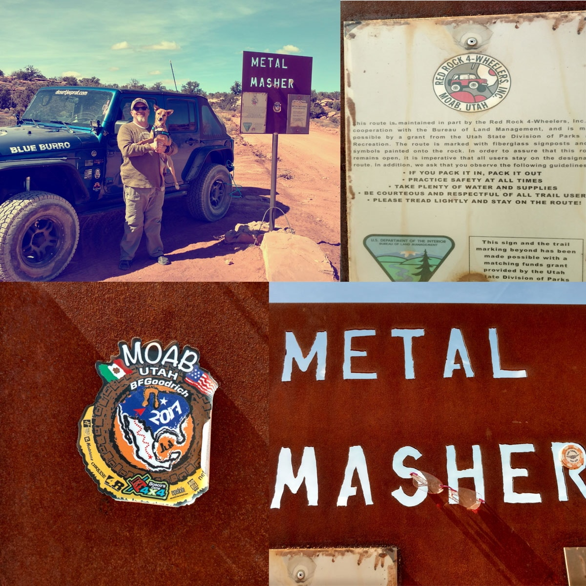 Metal Masher Moab Utah