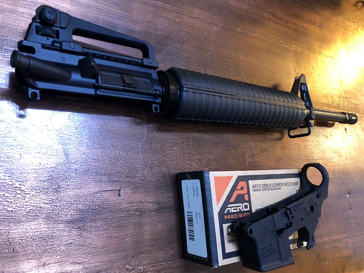 AR-15 Retro Build