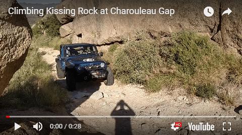 Climbing Kissing Rock at Charouleau Gap