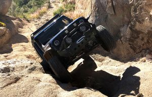 Blue Burro's Jeep Wave on Kissing Rock 11 18