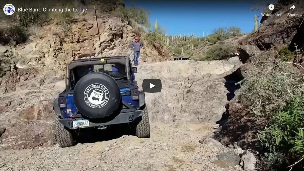 Blue Burro Box Canyon The Ledge