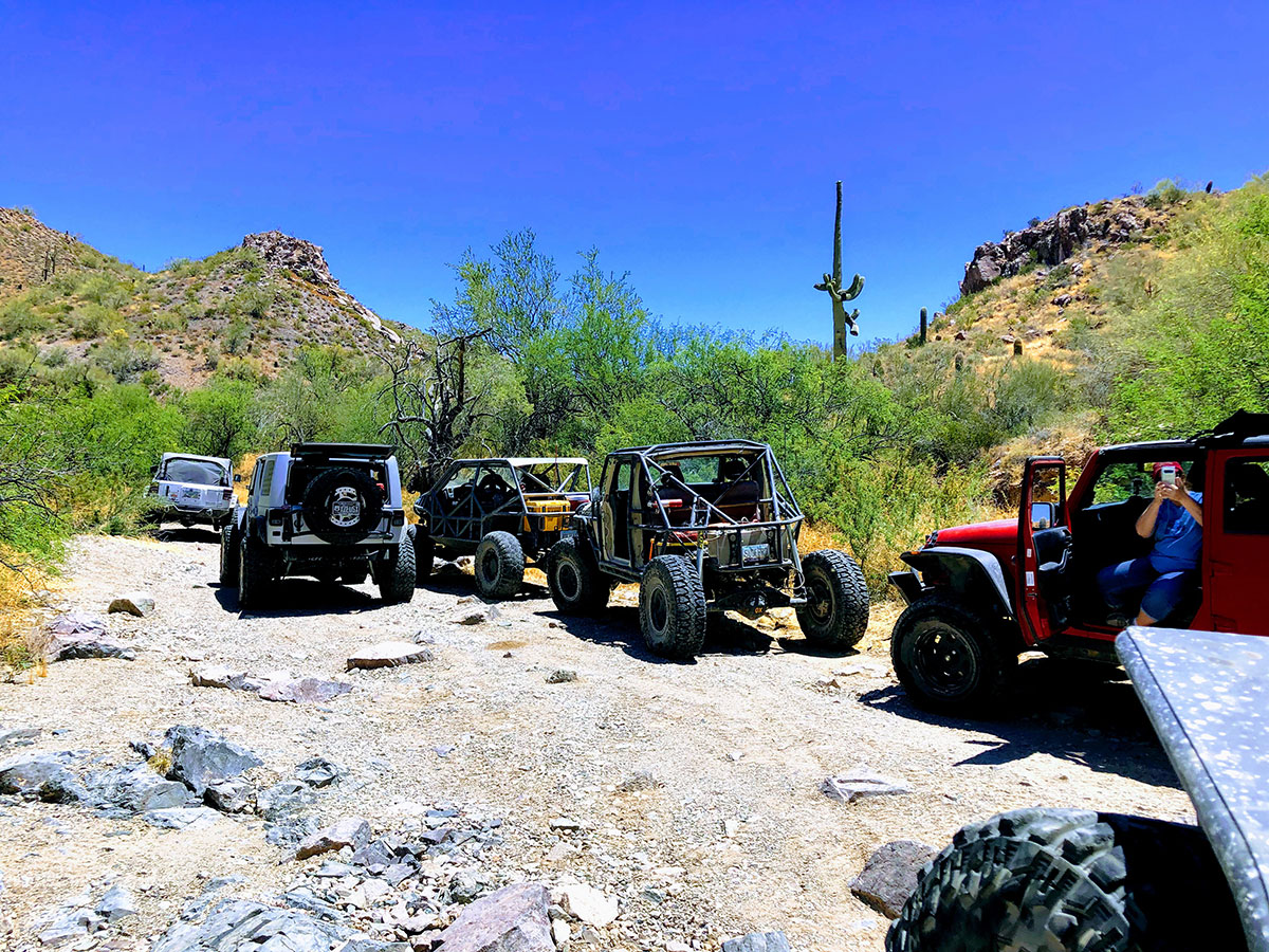Camping and Crawling Memorial Weekend with Off-Road Tucson
